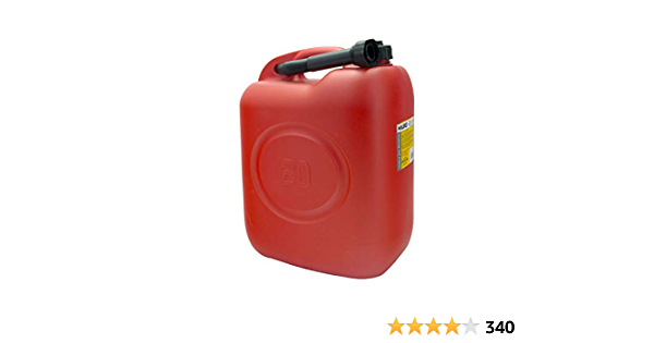 Maurer 91870 Benzinkanister Aus Kunststoff 20l Rot Baumarkt
