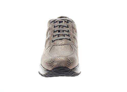 Hogan Donna Sneaker HXW00N00010GZRC407 Interactive Scarpa Allacciata Palude Visitar lbU0N