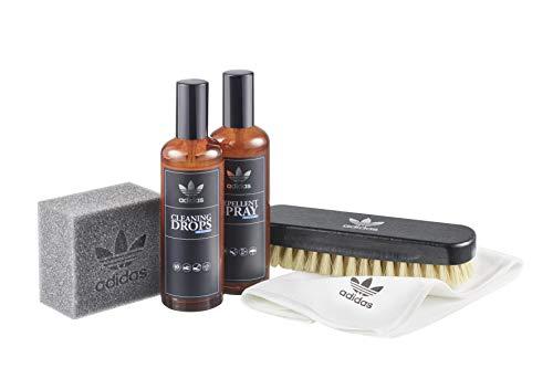 adidas Kit di pulizia Originals Statement Set per sneaker - Special Edition in un'esclusiva scatola nera per pulizia e manutenzione di scarpe sportive