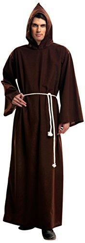 Imagen de my other me  disfraz de monje para hombre, m l viving costumes 201023