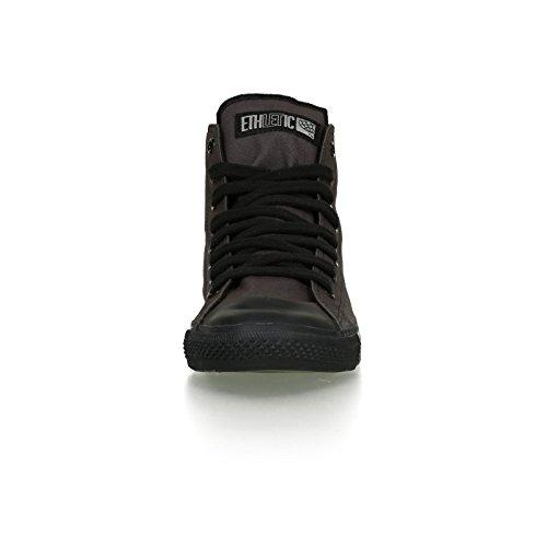 Ethletic Black Cap vegan HiCut - Farbe pewter grey / black aus Bio-Baumwolle Größe 39 - 6