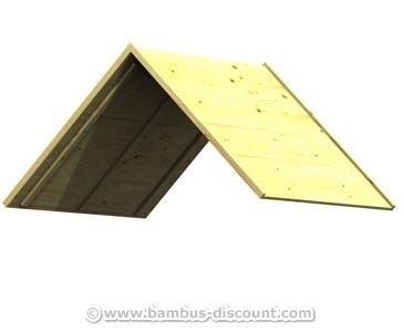 Holzdach-Bausatz Größe