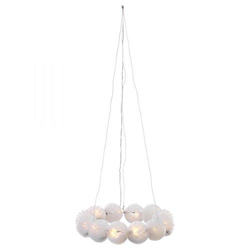 Ikea Strala / Sträla Lampe mit 12 durchscheinenden Leuchtkugeln für alle Feste