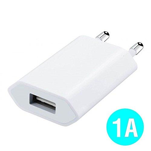 World Smartphone Caricatore Adattatore di Alimentazione USB 1A per Motorola Moto X (2014) Bianco