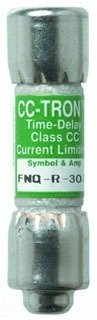 Cooper Bussmann FNQ-R-12 Class CC Time Delay Rejection Fuse by Cooper Bussmann 12 Time Delay Fuse