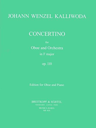 Concertino F-Dur op. 110 - Ausgabe für Oboe und Klavier (MR 1656)