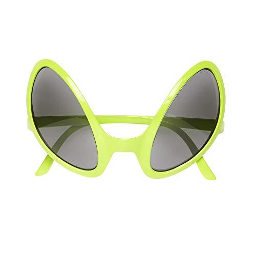 Widmann 0347O Brille von Außerirdischem, Grün, One Size