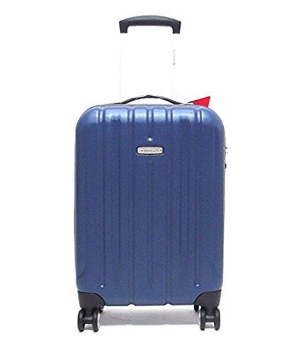 Trolley grande KINETIC 4 ruote cm 77x52x30 lt.100 kg, 4,40 colore blu notte