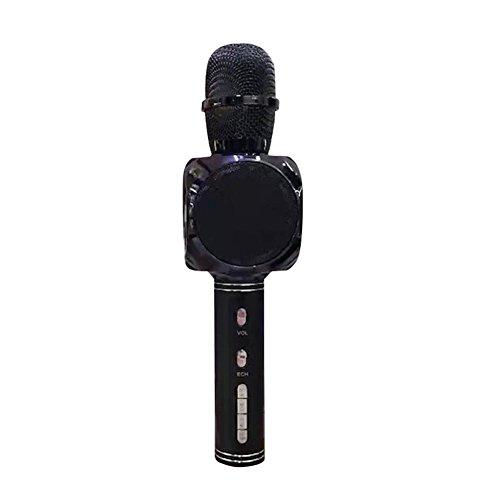 Preisvergleich Produktbild Bulary Wireless Bluetooth Mikrofon Karaoke Mikrofon Handheld KTV Handy Karaoke Tool für Smartphone oder PC,  Home KTV Party im Freien