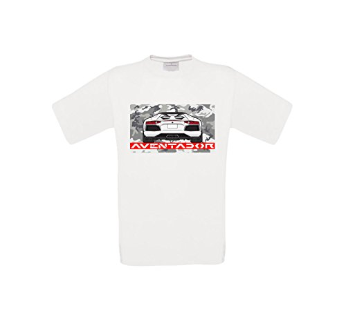 Lambo Aventador Men's Shirt Lamborghini Coupe Legend Turbo Petrol Monsters - Lamborghini-shirt