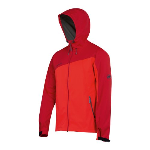 Mammut Cellon Hoody poppy/inferno