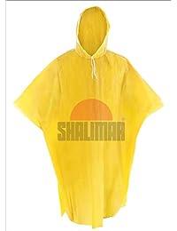a19dfb654cd Shalimar Unisex Plastic Cross Laminated Reusable Rain Poncho Pack of 4  (Multicolor)