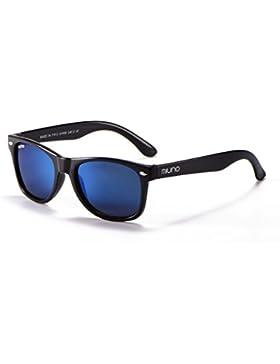 Niños polarizado gafas de sol efecto espejo dual-polarized Wayfare funda para niños y niñas 6833