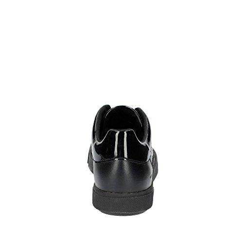 Pour Black À Retention Lacets La Femmes Chaussures Geox ZnaII
