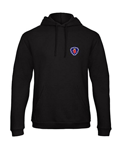 Scania Trucker Saab LKW Embroidered Hooded Pullover Hoody VIP Really Premium Quality - 7084