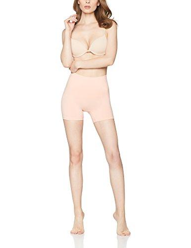 Iris & Lilly Damen Nahtlose und formende Mieder-Shorts Rosa (Nude)