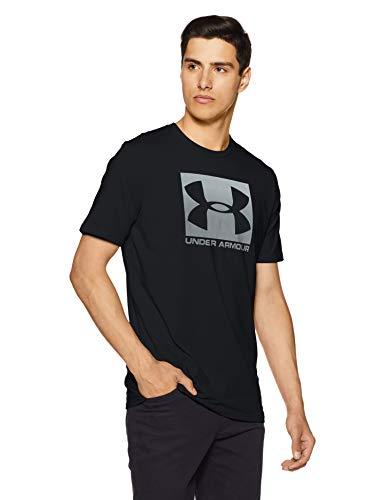 Under Armour Herren Boxed Sportstyle T-Shirt, Schwarz/Weiß, MD -