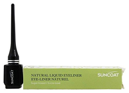 Suncoat - base di zucchero naturale Eyeliner liquido nero Chic - 0,23 oz.