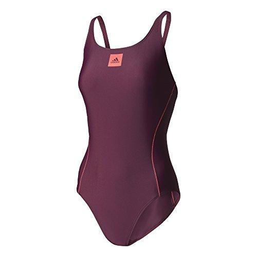 adidas Inf Ecs 1Pc Badeanzug für Damen, Rot (Granat / Rosbas), 38