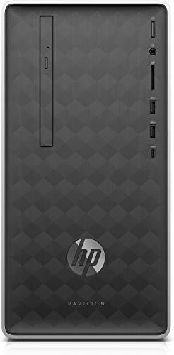 HP Pavilion 590-p0536ng AMD Ryzen 5 2400G 16 GB DDR4-SDRAM 1256 GB HDD+SSD Grigio, Argento Mini Tower PC Pavilion 590-p0536ng, 3,6 GHz, AMD Ryzen 5, 16 GB, 1256 GB, Dvd-RW, Windows 10 Home