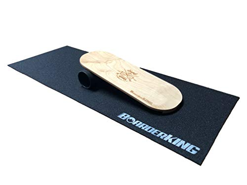 Indoorboard Classic mit Laser-Gravur Indoor Board Surfboard Balanceboard (140 mm)