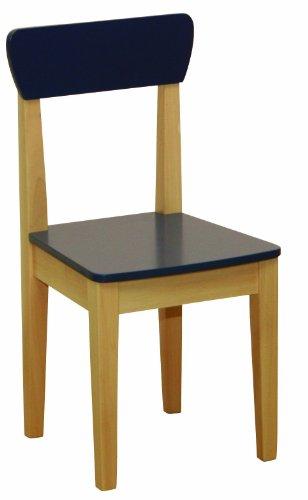 roba 50773 - Silla para niños, de madera maciza, tableros de fibra...