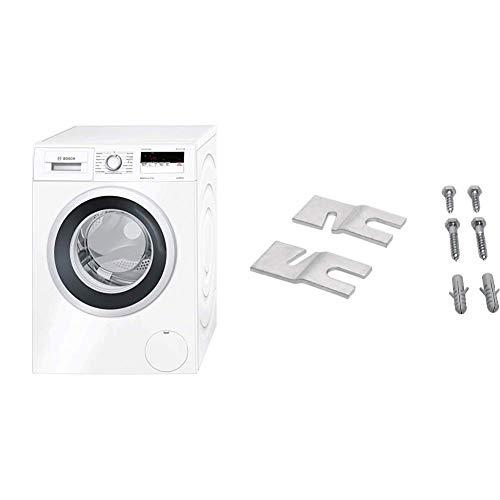 Bosch WAN281KA Serie 4 Waschmaschine/Frontlader (Freistehend) / A+++ / 1390 UpM / 59,8 cm / 7 kg/Restlaufanzeige + Frontlader Waschmaschine/A+++ / 7kg