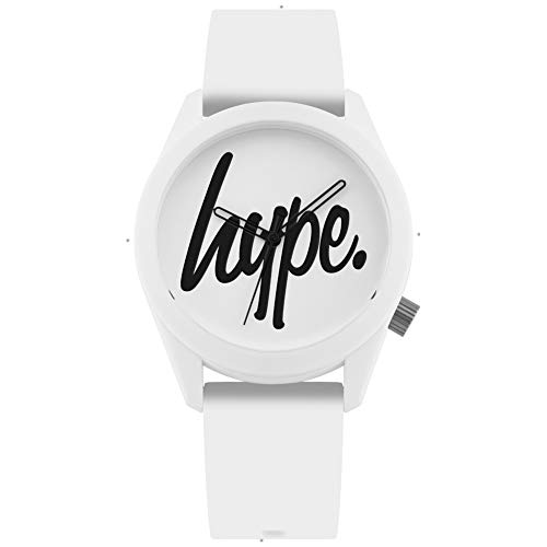 Hype White and Black Script Watch Best Price and Cheapest