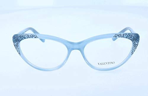Valentino Damen V2638 Brillengestelle, Blau, 53
