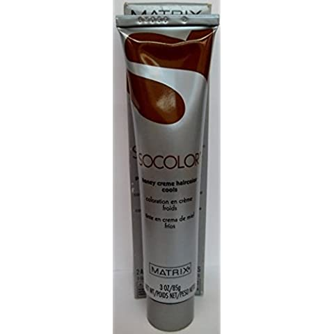 Socolor by Matrix - Honey Creme Hair Color - Cools Series - Size: 3.0 Fl. Oz. - Shade Selection: 4A - Dark Ash Brown by Matrix