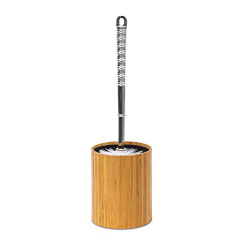 Bambus WC-Bürstenhalter
