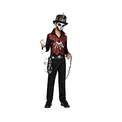 My Other Me Kostüm Voodoo Master 10-12A, Mehrfarbig (Me Other Me - Voodoo Kostüm Kinder