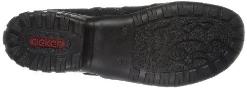 Rieker L4690, Bottes femme Noir - Schwarz (schwarz 02)