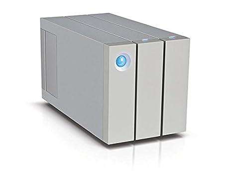 LaCie 2big Thunderbolt™ 2 - 12 TB (2 Hot-Swap-fähige* Festplatten mit 7200 U/min), Raid 0 & Raid 1, 2 x Thunderbolt, USB 3.0 - LAC9000473EK