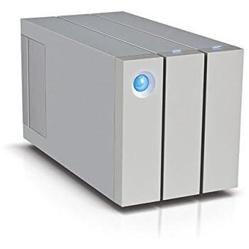 LaCie 2big 12 TB (2 x 6 TB) Dual Thunderbolt 2 + USB 3.0 Professional Dual-Disk, 7200 RPM Desktop RAID for PC and Mac