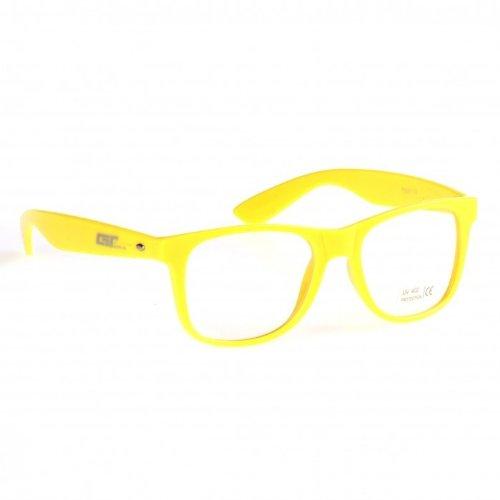 Masterdis Herren Sonnenbrille Groove Shades Clear gelb gelb Einheitsgröße