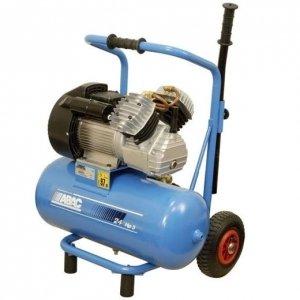 Abac - Compresseur D'Air à Piston Bi-Cylindre En V 3 Cv Réservoir De 24 Litres