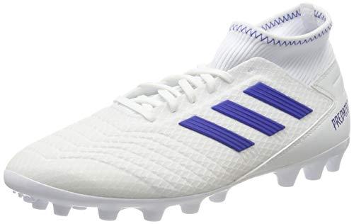 adidas Herren Predator 19.3 AG Fußballschuhe, Mehrfarbig (Ftwbla/Azufue/Azufue 000), 43 1/3 EU