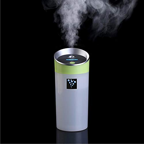 TIB Heyne USB Negative Ion Aromatherapie Air Purifier Car Humidifier Water Filler Office Mini,Green