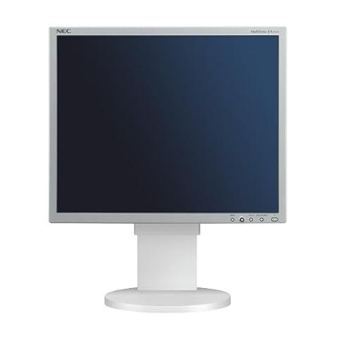 NEC MultiSync EA191M 48,3 cm (19 Zoll) TFT Monitor VGA, DVI (Kontrast 1500:1, 20ms Reaktionszeit) silber