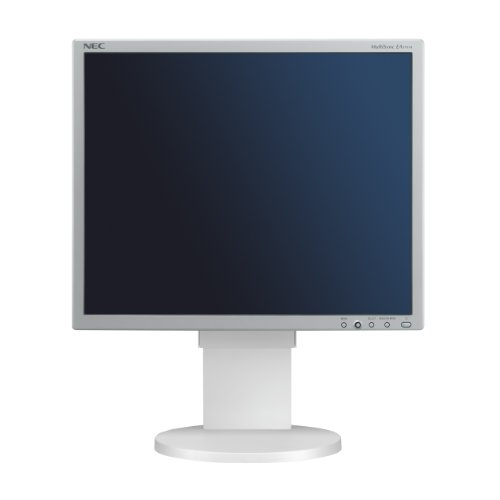 NEC MultiSync EA191M 48,3 cm (19 Zoll) TFT Monitor VGA, DVI (Kontrast 1500:1, 20ms Reaktionszeit) Silber Nec Multisync Flat-panel-display