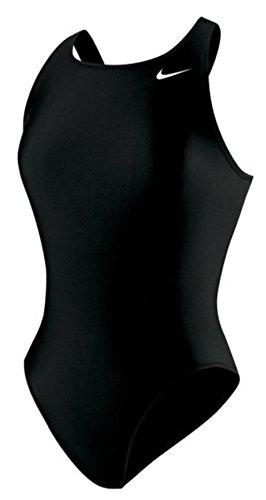 Nike Swim Poly Core Solid Fast Back One Piece Women Black Größe DE 38 | US 34 2019 Schwimmanzug