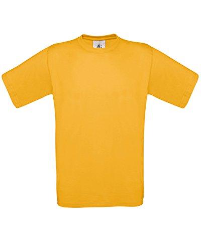 Gold-männer Tshirt (B&C Exact 150 T-Shirt für Männer (3XL) (Gold) 3XL,Gold)