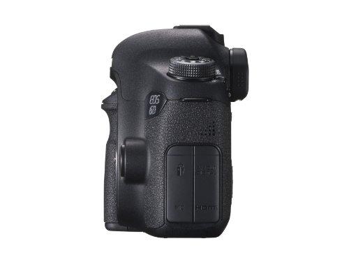 Canon EOS 6D Vollformat SLR-Digitalkamera mit WLAN und GPS (20,2 Megapixel, 7,6 cm (3 Zoll) Display, DIGIC 5+) nur Gehäuse schwarz -