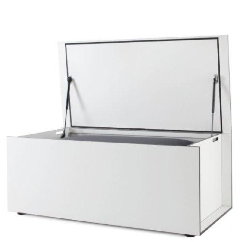 Conmoto Kissentruhe EL PECHO M, weiß, Außenmaß: H 52 | B 130 | T 57 cm,