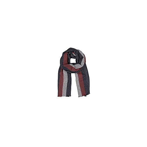 Tommy Hilfiger Boucle Corporate Stripe Scarf -