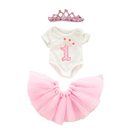 Webla Crochet Costume 10-11 Zoll Puppenzubehör Reborn Simulation Babykleidung Doll Clothes Ein niedlicher Tutu Rock Kleidung Mantel Mädchen Spielzeug für 18 Zoll Puppe Zubehör Grill S Toy Pk (Pink) (Bigfoot-plüsch-spielzeug)