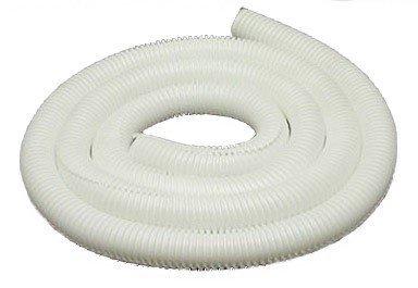 Drossbach KITBAG012 White Corrugated Tubing / Split Loom 1/2 x 8' by Drossbach - 0.5 Tubing