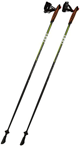 LEKI Nordic Walking Stock Response, Black/Green, 115, 637-2520