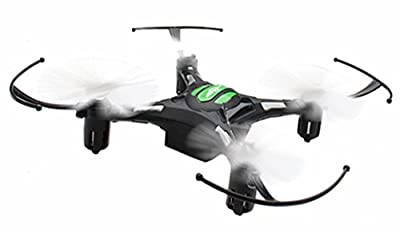 RC Mini Drone, JJRC 4 Channel 2.4GHz 6-Axis Gyro Aircraft with LED Lights + Headless Mode 3D Roll Remote Control Quadcopter Toys For Adult Kids, by ECLEAR